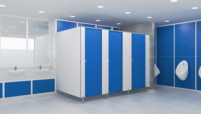 Toilet Cubicles Uk Mr Melamine Faced Chipboard Systems