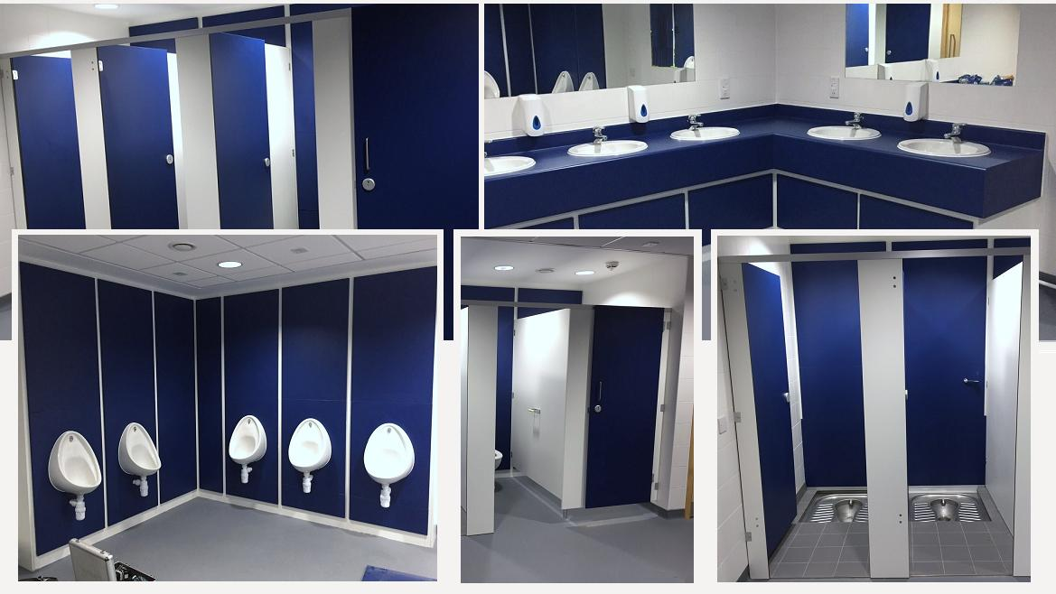 Sports And Leisure Toilet Cubicles Rdm Cubicles
