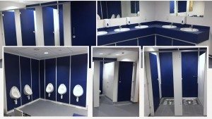 Shower cubicles for Sports and Leisure