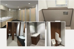 Toilet Cubicles for offices