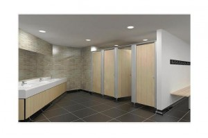 toilet cubicles for offices or hotels