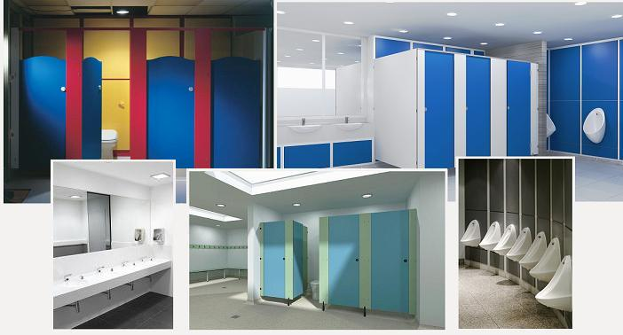 Toilet Cubicles For Education