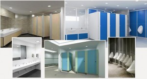 Toilet and Shower Cubicles For Sports and Leisure