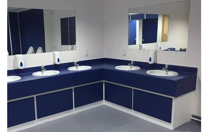 washrooms for leisure and recreational facilities