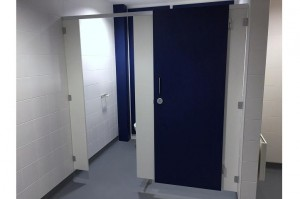 washroom cubicles for changing rooms