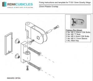 Toilet Cubicle Ironmongery