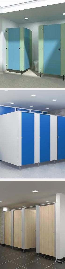Toilet Cubicle Sizes - RDM Cubicles